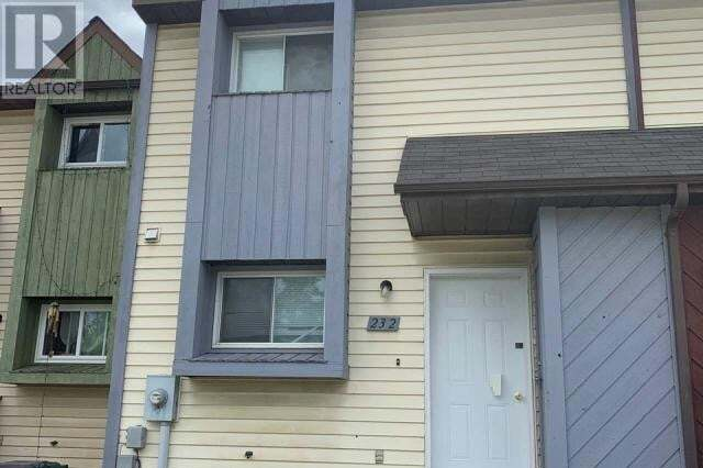 Townhouse for sale at 232 Spieker Ave Tumbler Ridge British Columbia - MLS: 185114