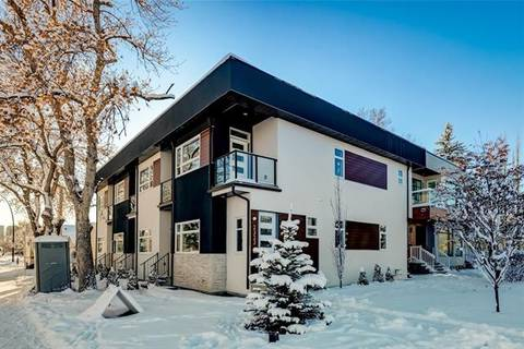 Townhouse for sale at 2321 1 St Northwest Unit 3 Calgary Alberta - MLS: C4283010