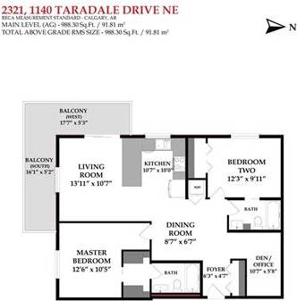 Condo for sale at 1140 Taradale Dr Northeast Unit 2321 Calgary Alberta - MLS: C4243790