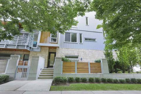 Townhouse for sale at 2323 Brunswick St Vancouver British Columbia - MLS: R2396582