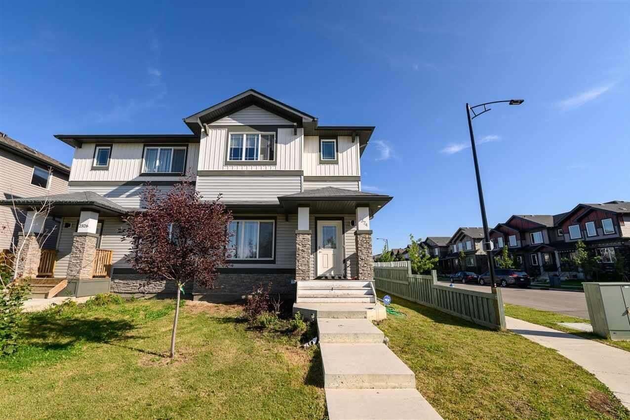 Townhouse for sale at 2324 Glenridding Bv SW Edmonton Alberta - MLS: E4213271