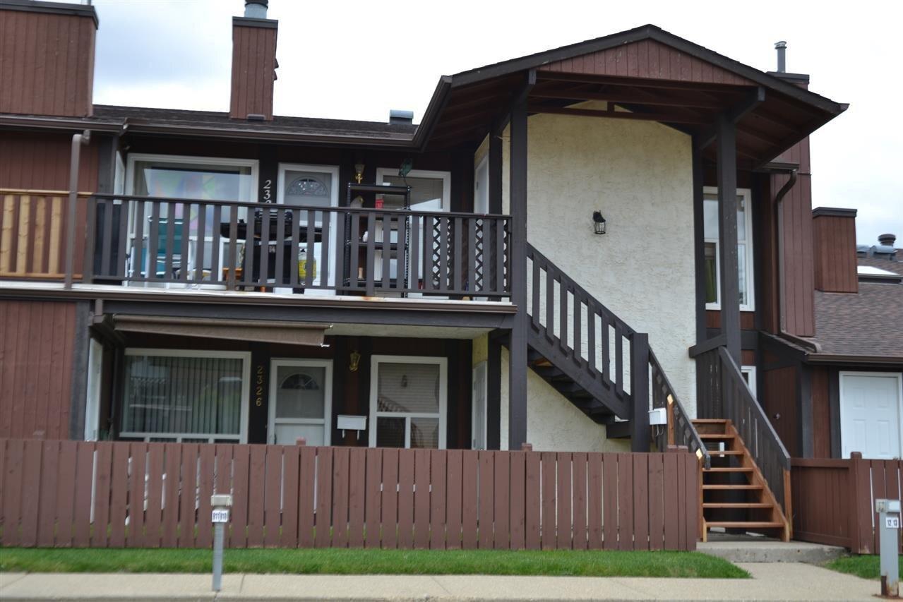 Townhouse for sale at 2326 151 Av NW Edmonton Alberta - MLS: E4208636