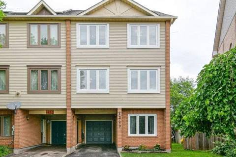 Townhouse for sale at 2329 Strawfield Ct Oakville Ontario - MLS: W4550090