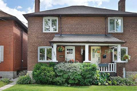 Townhouse for sale at 233 Airdrie Rd Toronto Ontario - MLS: C4547435