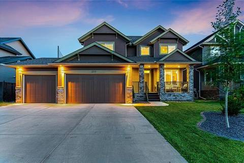 House for sale at 233 Boulder Creek Dr South Langdon Alberta - MLS: C4261956