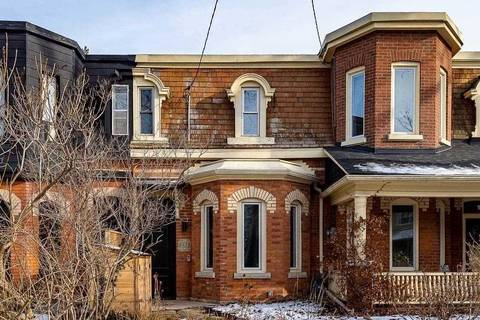 Townhouse for sale at 233 Concord Ave Toronto Ontario - MLS: C4645780