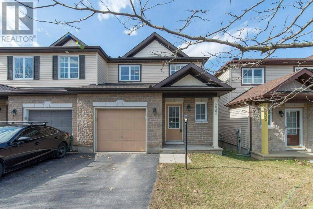 House for sale at 233 Deerfox Dr Ottawa Ontario - MLS: 1186591