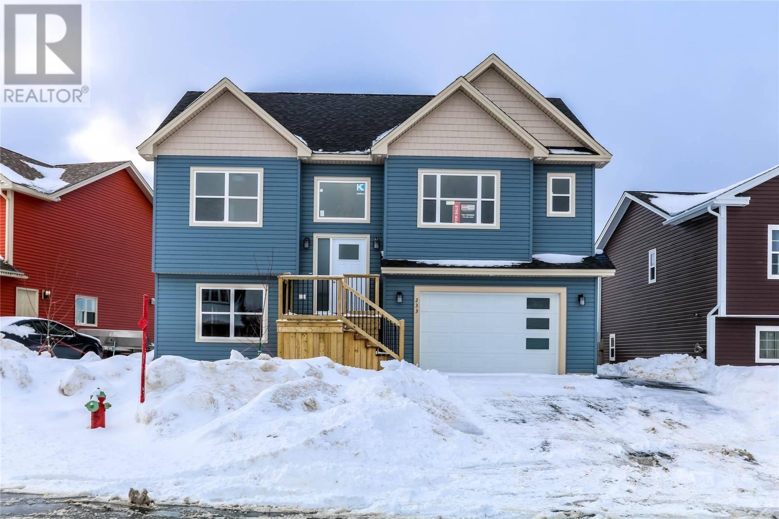 House for sale at 233 Elizabeth Dr Paradise Newfoundland - MLS: 1209514