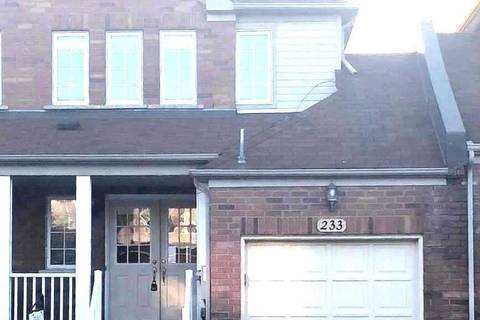 Townhouse for sale at 233 Sherwood Rd Milton Ontario - MLS: W4475809