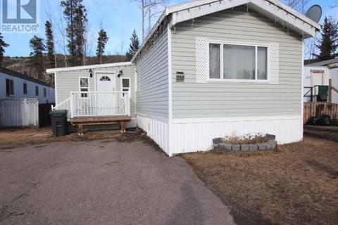 Home for sale at 233 Steeprock Cs Tumbler Ridge British Columbia - MLS: 177517