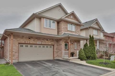 House for sale at 2334 Norland Dr Burlington Ontario - MLS: W4446505