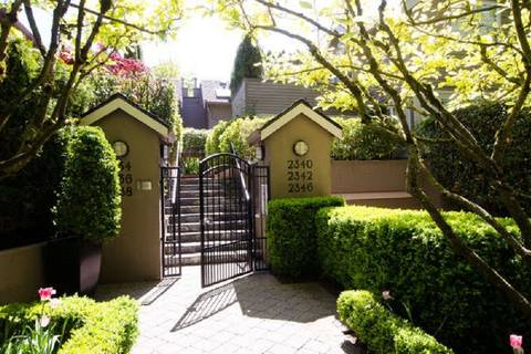 Townhouse for sale at 2336 6th Ave W Vancouver British Columbia - MLS: R2368619