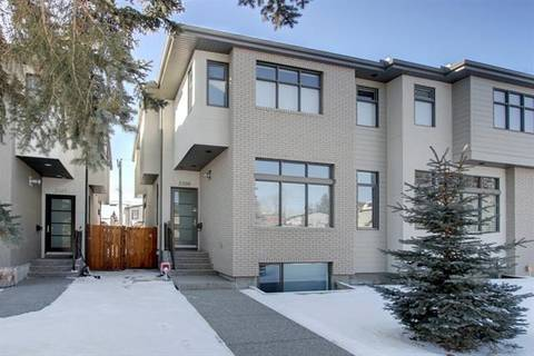 Townhouse for sale at 2339 22 Ave Southwest Calgary Alberta - MLS: C4290159
