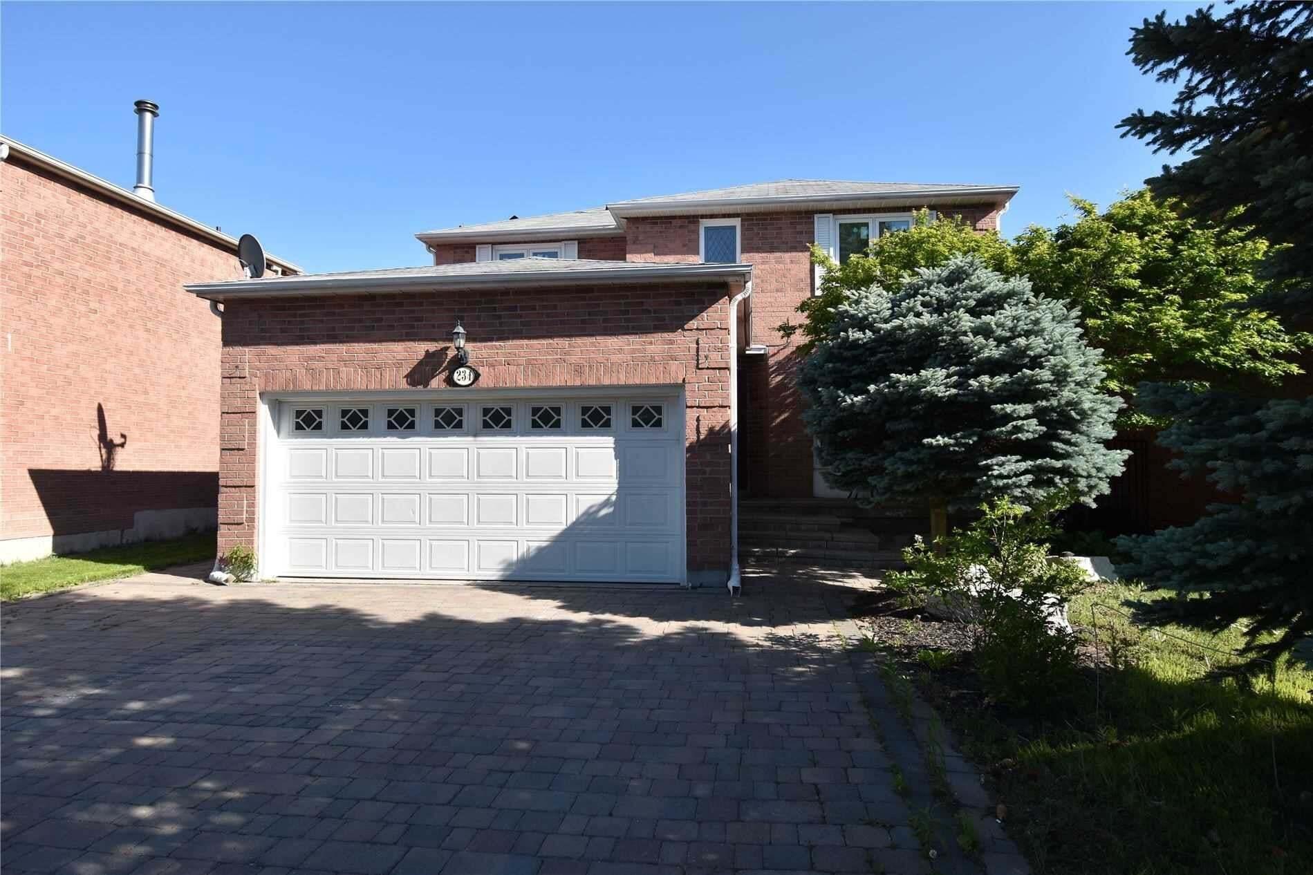 House for rent at 234 Badessa Circ Vaughan Ontario - MLS: N4771639