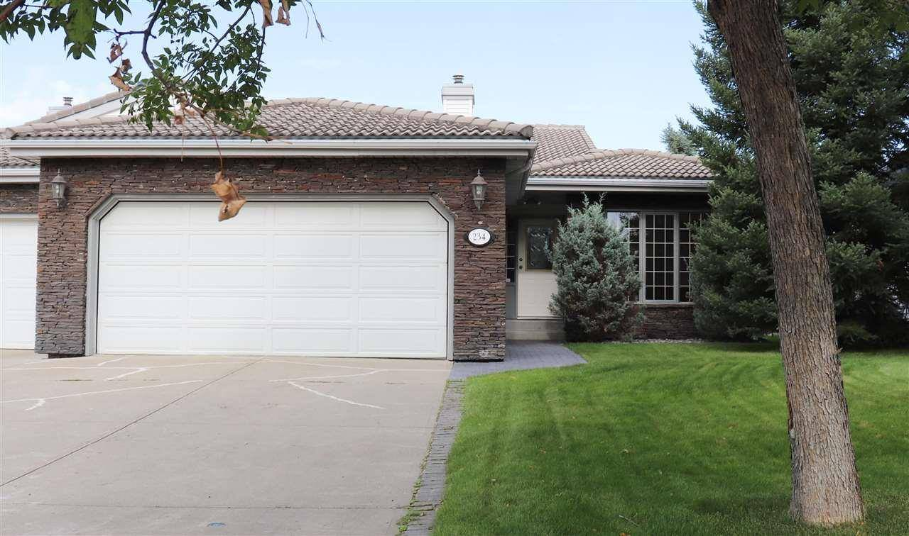 Townhouse for sale at 234 Country Club Pt Nw Edmonton Alberta - MLS: E4171741