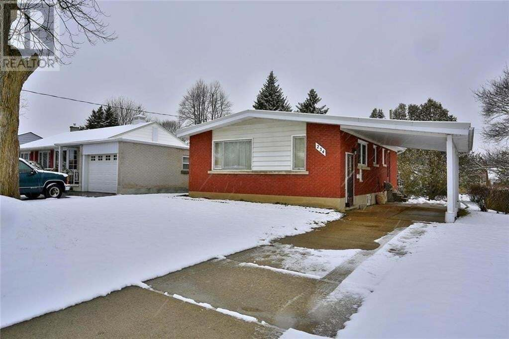 House for rent at 234 Dick St Waterloo Ontario - MLS: 30818124