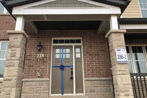 Townhouse for rent at 234 Harold Dent Tr Oakville Ontario - MLS: W4408194