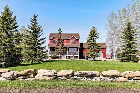 House for sale at 234215 Boundary Rd Rural Rocky View County Alberta - MLS: C4245244