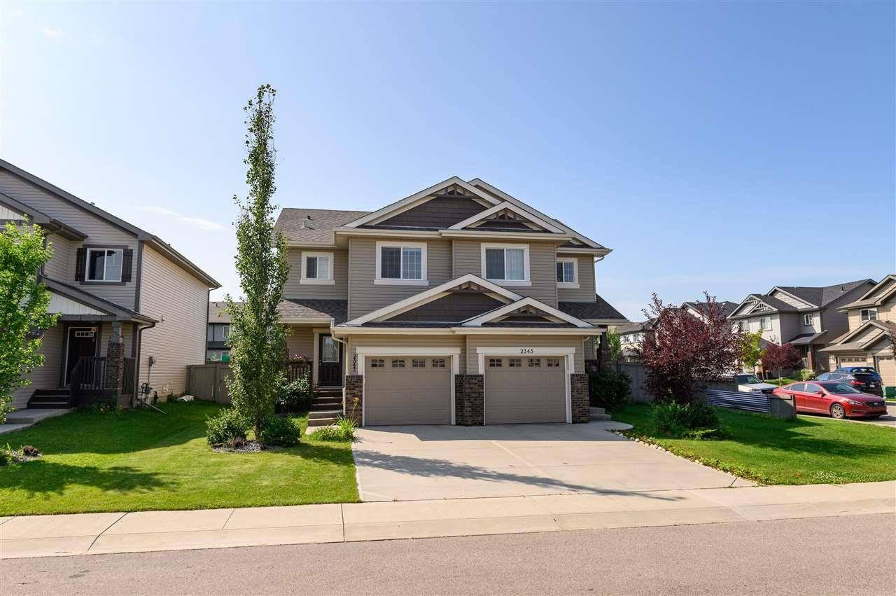 Townhouse for sale at 2343 Casselman Cres Sw Edmonton Alberta - MLS: E4168349