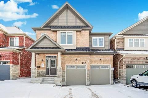 House for sale at 2347 Dobbinton St Oshawa Ontario - MLS: E4664401