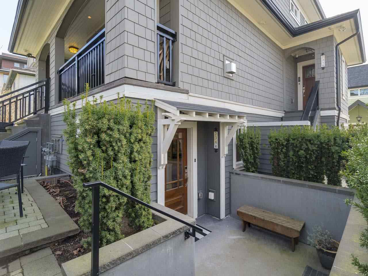 For Sale: 2348 W 8th Avenue, Vancouver, BC | 2 Bed, 2 Bath Townhouse for $1,238,000. See 20 photos!