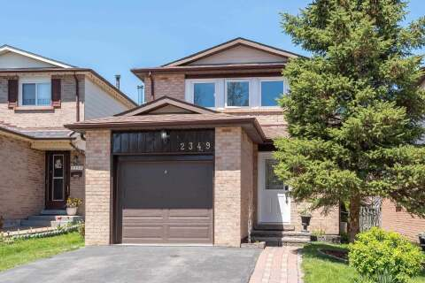 House for sale at 2349 Belcaro Wy Mississauga Ontario - MLS: W4780136