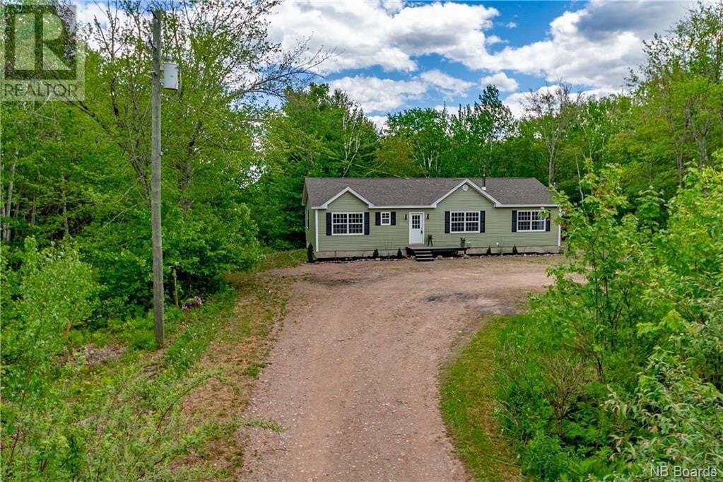 House for sale at 235 Sunpoke Rd Rusagonis New Brunswick - MLS: NB042468