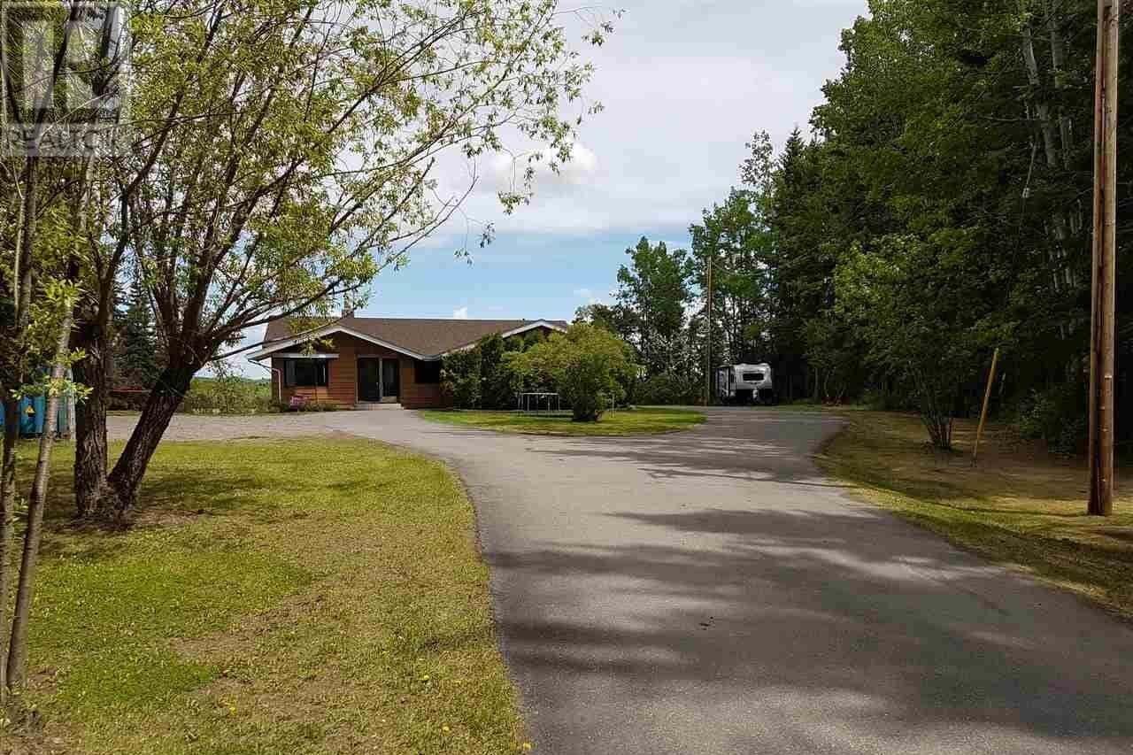 House for sale at 2350 Redmond Pit Rd Vanderhoof British Columbia - MLS: R2461620