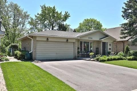 House for sale at 2356 Yolanda Dr Oakville Ontario - MLS: W4505822