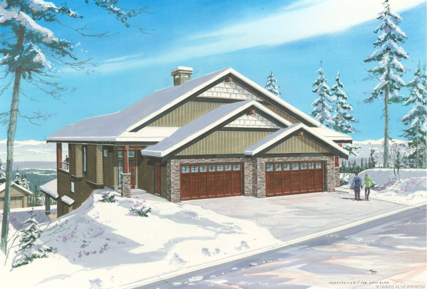 Townhouse for sale at 235 Grizzly Ridge Tr Big White British Columbia - MLS: 10198100