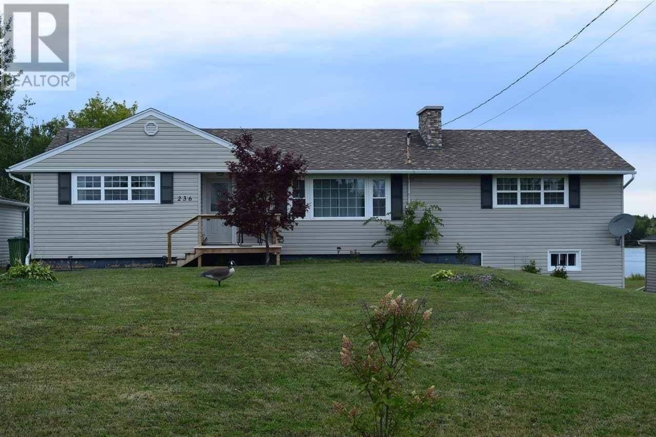 House for sale at 236 Jeff Ross Rd Barrachois Nova Scotia - MLS: 202019128