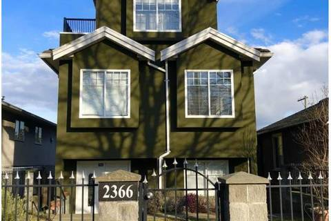 Home for sale at 2366 Nanaimo St Vancouver British Columbia - MLS: C8024270