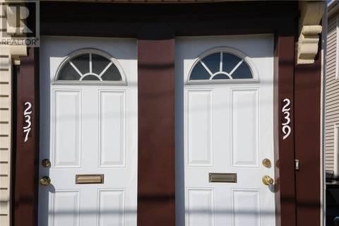 Townhouse for sale at 239 Metcalf St Unit 237 Saint John New Brunswick - MLS: NB002528