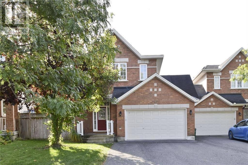 House for sale at 237 Saddlesmith Circ Ottawa Ontario - MLS: 1172298