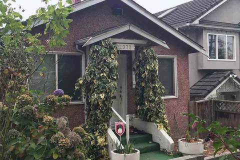 House for sale at 2372 Nanaimo St Vancouver British Columbia - MLS: R2309851