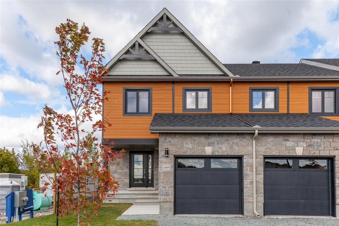 For Sale: 2382 Marble Crescent, Rockland, ON | 3 Bed, 2 Bath Townhouse for $266,900. See 20 photos!