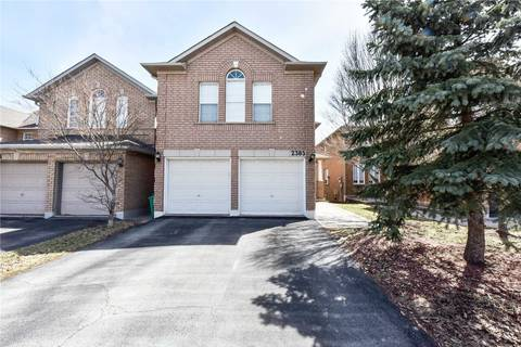House for sale at 2385 Bankside Dr Mississauga Ontario - MLS: W4418855