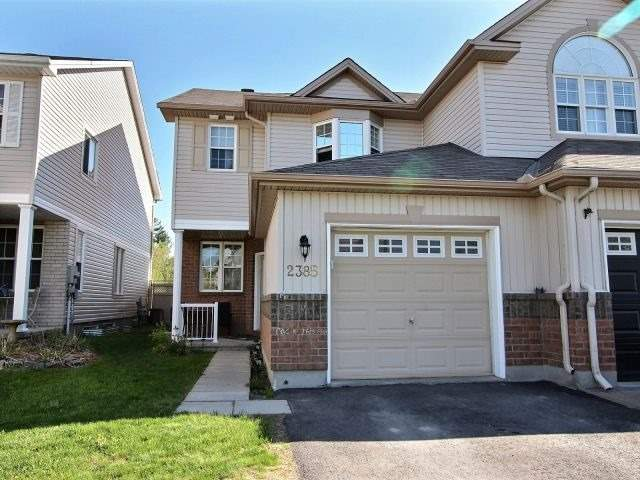 For Sale: 2385 Glandriel Crescent, Ottawa, ON | 3 Bed, 3 Bath Townhouse for $385,000. See 20 photos!