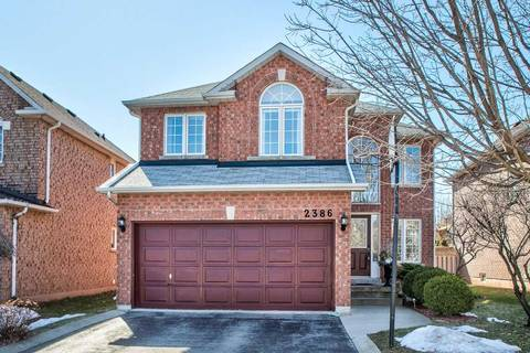 House for sale at 2386 Eden Valley Dr Oakville Ontario - MLS: W4715146