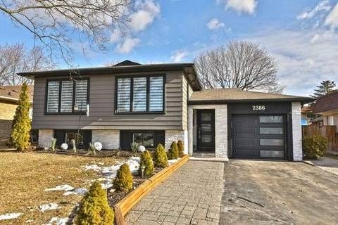 House for sale at 2386 Wyandotte Dr Oakville Ontario - MLS: W4698655