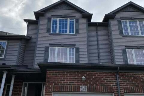 Townhouse for rent at 239 Parkvale Dr Kitchener Ontario - MLS: X4958607