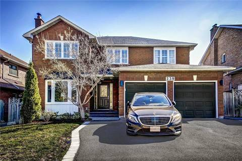 House for sale at 239 Savage Rd Newmarket Ontario - MLS: N4461277