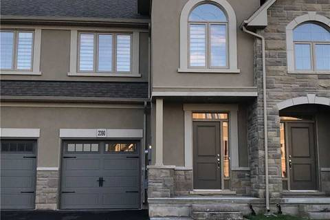 Townhouse for rent at 2390 Natasha Circ Oakville Ontario - MLS: W4614675