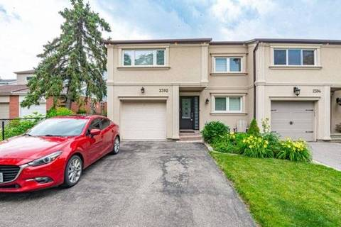Townhouse for sale at 2392 Basswood Cres Mississauga Ontario - MLS: W4524119