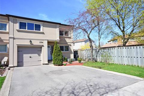 Townhouse for sale at 2394 Basswood Cres Mississauga Ontario - MLS: W4445623