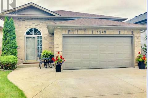 House for sale at 2395 Luxury  Windsor Ontario - MLS: 19021994