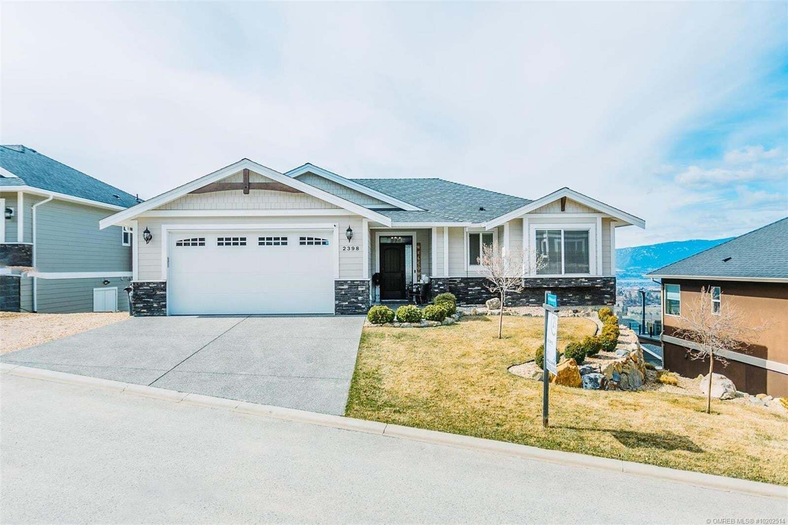 House for sale at 2398 Bellagio Ln Kelowna British Columbia - MLS: 10202514