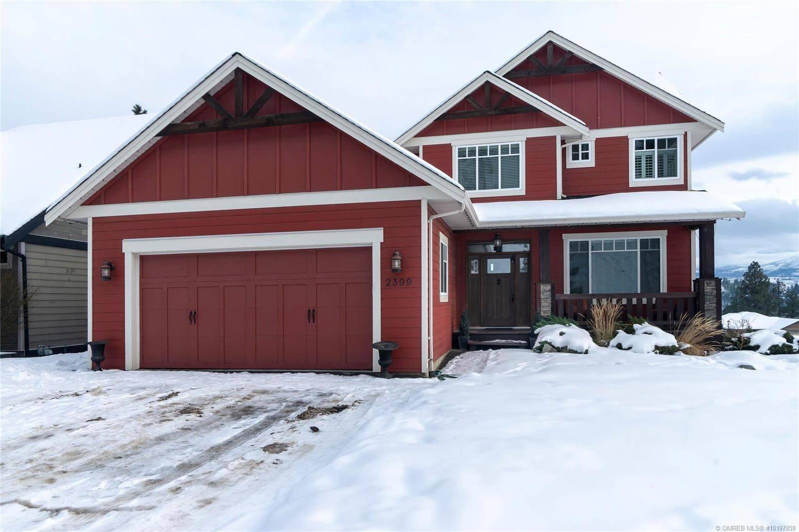 House for sale at 2399 Tallus Ridge Dr West Kelowna British Columbia - MLS: 10197859