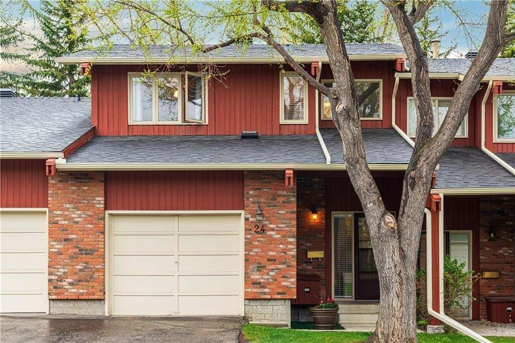 Townhouse for sale at 10001 Brookpark Bv SW Unit 24 Braeside, Calgary Alberta - MLS: C4297216