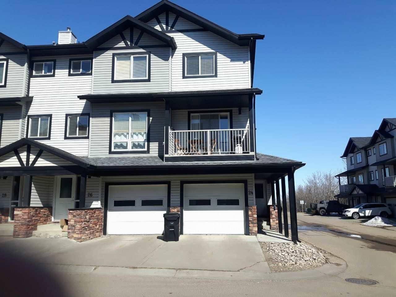 Townhouse for sale at 11 Clover Bar Ln Unit 24 Sherwood Park Alberta - MLS: E4194551